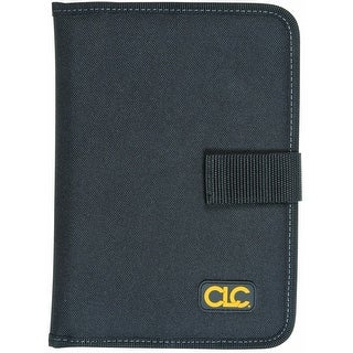 CLC Work Gear 5141 Contractor's Notepad Holder, Black