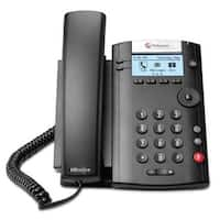 """Polycom 2200-40450-001 2-line Desktop Phone with power supply"""