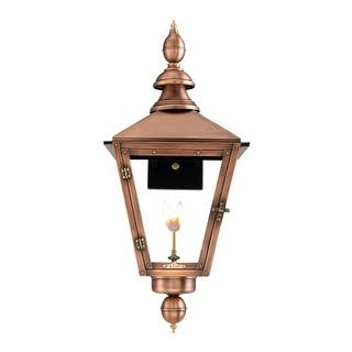 "Primo Lanterns CT-31G Charleston 30"" Wide Outdoor Wall-Mounted Lantern Natural Gas Configuration