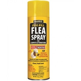 Harris FS-14 Flea Spray, 14 OZ
