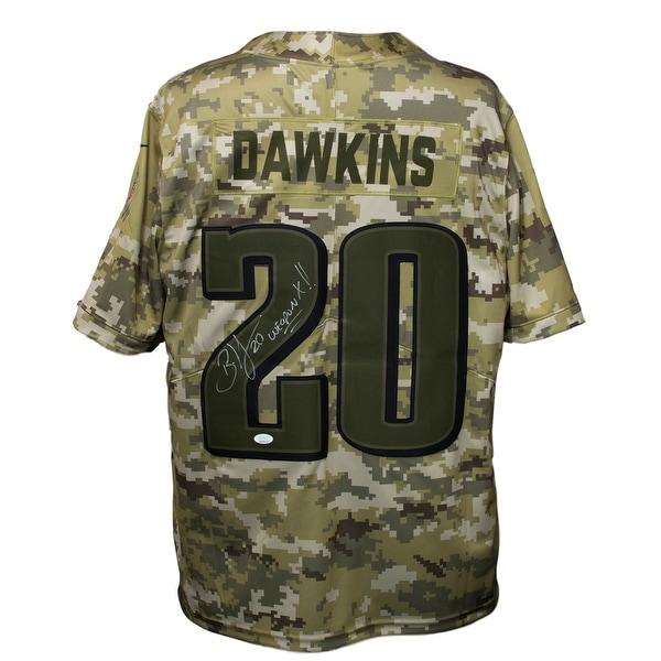 Brian Dawkins Signed Philadelphia Eagles Salute To Service Nike ...