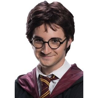 Harry Potter Wig & Tattoo Set for Adults