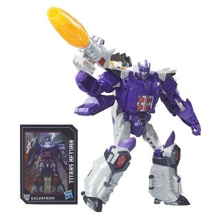 Transformers Generations Titans Return Figure: Nucleon and Galvatron