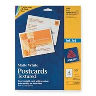 Consumer Products Post Cards- Textured- Card Size