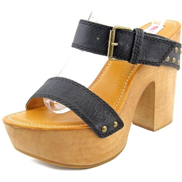 Two Lips Sophia Women Open Toe Leather Sandals