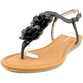 Rampage Dandylion Women Black Sandals
