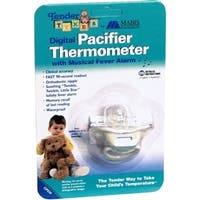 Tender Tykes Digital Pacifier Thermometer With Musical Fever Alarm 1 Each