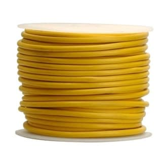 Coleman Cable 14-100-14 Primary Wire, 14-Gauge, 100-Feet Bulk Spool, Yellow
