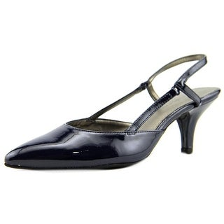 Bandolino I Believe Women  Pointed Toe Synthetic Blue Slingback Heel