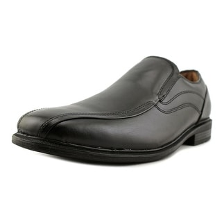 GH Bass & Co Glenn Men  Square Toe Leather Black Loafer