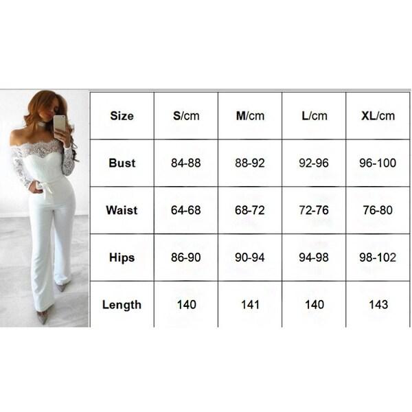 New Fashion Slim Lace Stitching Long Sleeve Belt Jumpsuit. Opens flyout.