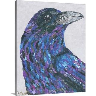 """Raven"" Canvas Wall Art"