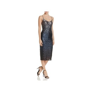 Laundry by Shelli Segal Womens Slip Dress Sleeveless Mid-Calf