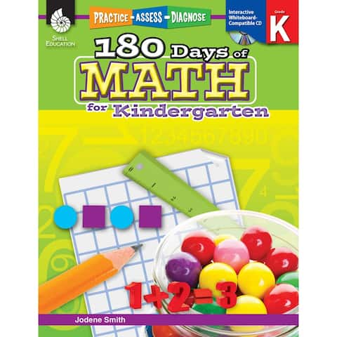 180 Days Of Math Gr K