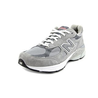 New Balance W990 D Round Toe Suede Running Shoe