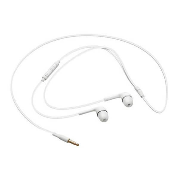 Shop Samsung Galaxy In Ear Wired Headset White Cell Phone Accessory Free Shipping On Orders Over 45 Overstock 27098361
