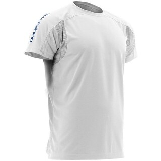 Huk Men's Trophy White Small Short Sleeve T-Shirt