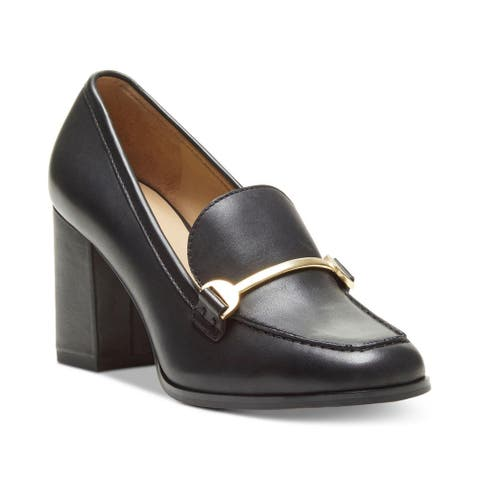 Enzo Angiolini Womens Mardell Leather Closed Toe Mary Jane Pumps
