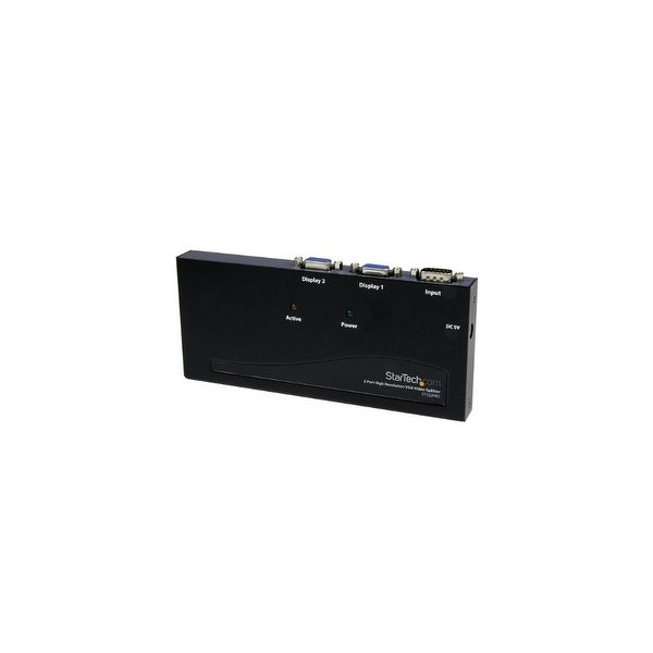 StarTech ST122PROB StarTech.com ST122PRO 2 Port High Resolution VGA Video Splitter - 350 MHz
