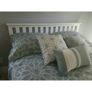 Madison Park Cecilia Blue 7-Piece Comforter Set
