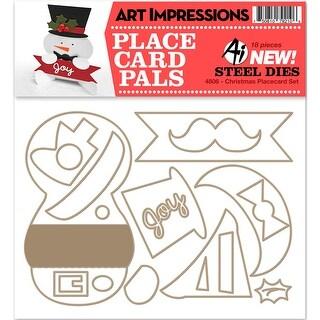 Christmas Placecard Set-Art Impressions Die