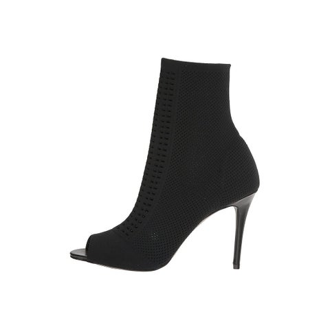 Charles by Charles David Womens INSPECTOR Fabric Peep Toe Ankle Fashion Boots - 5
