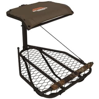 Millennium M-50 Steel Hang-On Treestand - M-050-SL|https://ak1.ostkcdn.com/images/products/is/images/direct/43a2dd5f50151e335e9af37dc89878ac94c2a396/Millennium-M-50-Steel-Hang-On-Treestand---M-050-SL.jpg?impolicy=medium