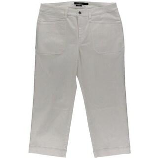 Lauren Ralph Lauren Womens Cropped Jeans Denim Stretch