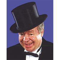 Top Hat Collapsible Child - Black