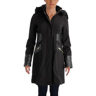 Via Spiga Womens Midi Coat Winter Water Repellent