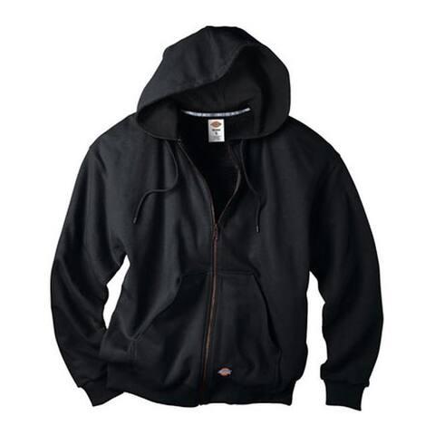 Dickies Men's Thermal Lined Fleece Jacket Black
