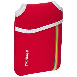 Polaroid Neoprene Pouch for The Polaroid Snap Instant Camera (Option: Red)