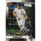 Magglio Ordonez Chicago White Sox 2002 Donruss Fan Club Autographed Card  Sweet Card  This item com