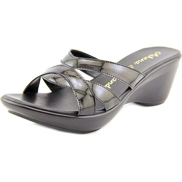 Athena Alexander Stefan Open Toe Synthetic Wedge Sandal