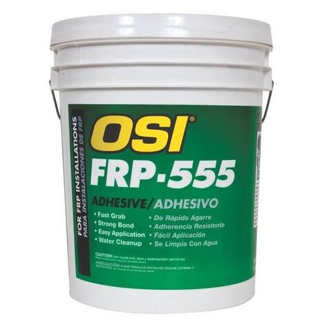 Henkel 827653 Pro Series Fiberglass Adhesive, White, 1 Gallon