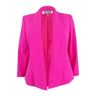 Kasper Women's Petite Shawl-Collar Blazer - pink perfection - 4P