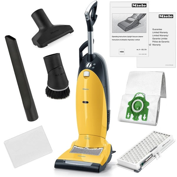Miele Dynamic U1 Jazz Upright HEPA Vacuum Cleaner + More