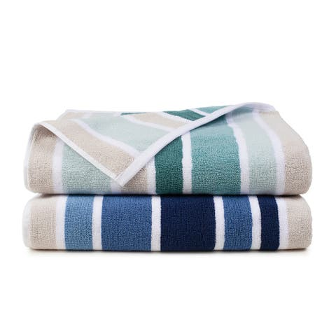 Martex Kendrick Oversized Striped Bath Towel
