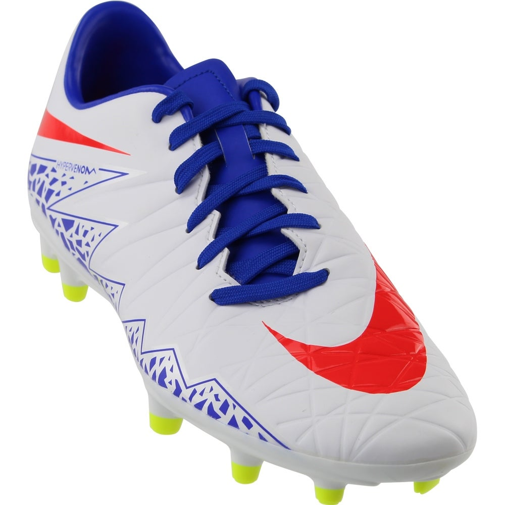 new product ff17a a0ab1 Nike Womens Hypervenom Phelon 2 Firm Ground Soccer Athletic Cleats