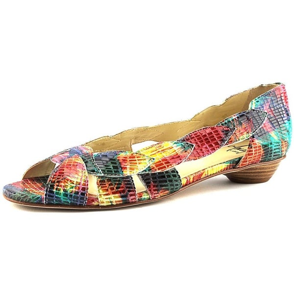 Amalfi By Rangoni Iside Women N/S Open Toe Leather Sandals