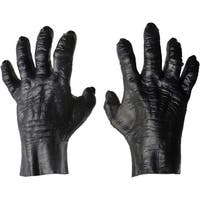 Hands Gorilla Costume Gloves - Black