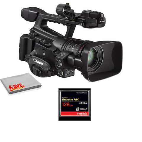 Canon XF300 Professional High Definition Camcorder Kit Bundle
