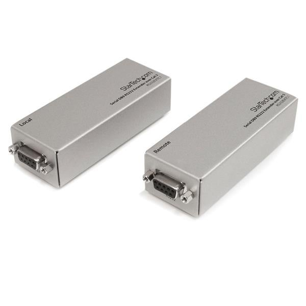 Startech - Rs232extc1 Db9 Rs232 Serial Over Cat5 Portnextender