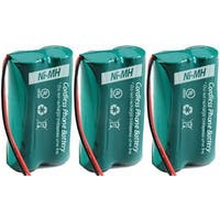 Replacement GE/RCA 6010 Battery for 28802FE1 / 2131-1BKGA Phone Models (3 Pack)