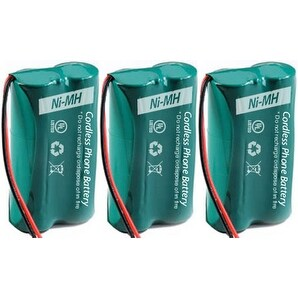 Replacement Uniden 6010 Battery for BBTG0743101 / DCX400 Battery Models (3 Pack)