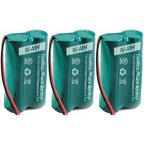Replacement Uniden 6010 Battery for BT-1011 / DRX402 Battery Models (3 Pack)