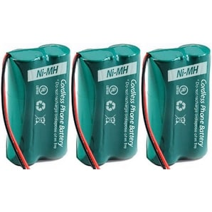 Replacement AT&T 6010 Battery for CL81209 / SL82558 Phone Models (3 Pack)