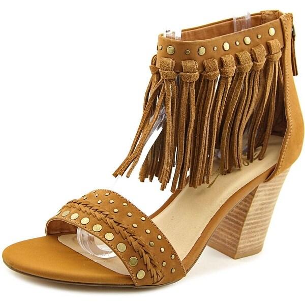 Sbicca Palozza Women Open-Toe Leather Slingback Heel