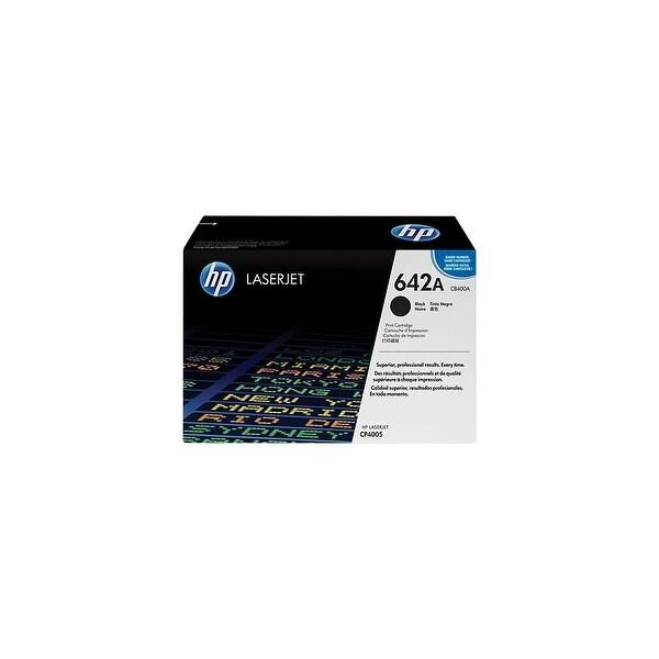 HP 642A Black Original LaserJet Toner Cartridge (CB400A)(Single Pack)