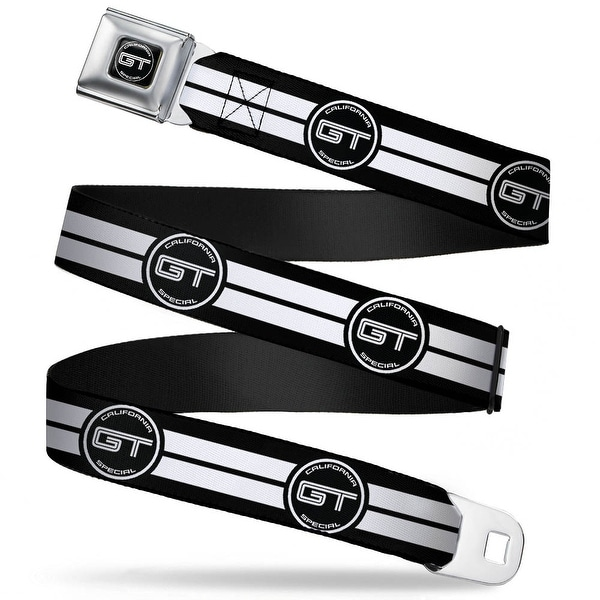 Ford Gt California Special Emblem Full Color Black White Ford Gt California Seatbelt Belt